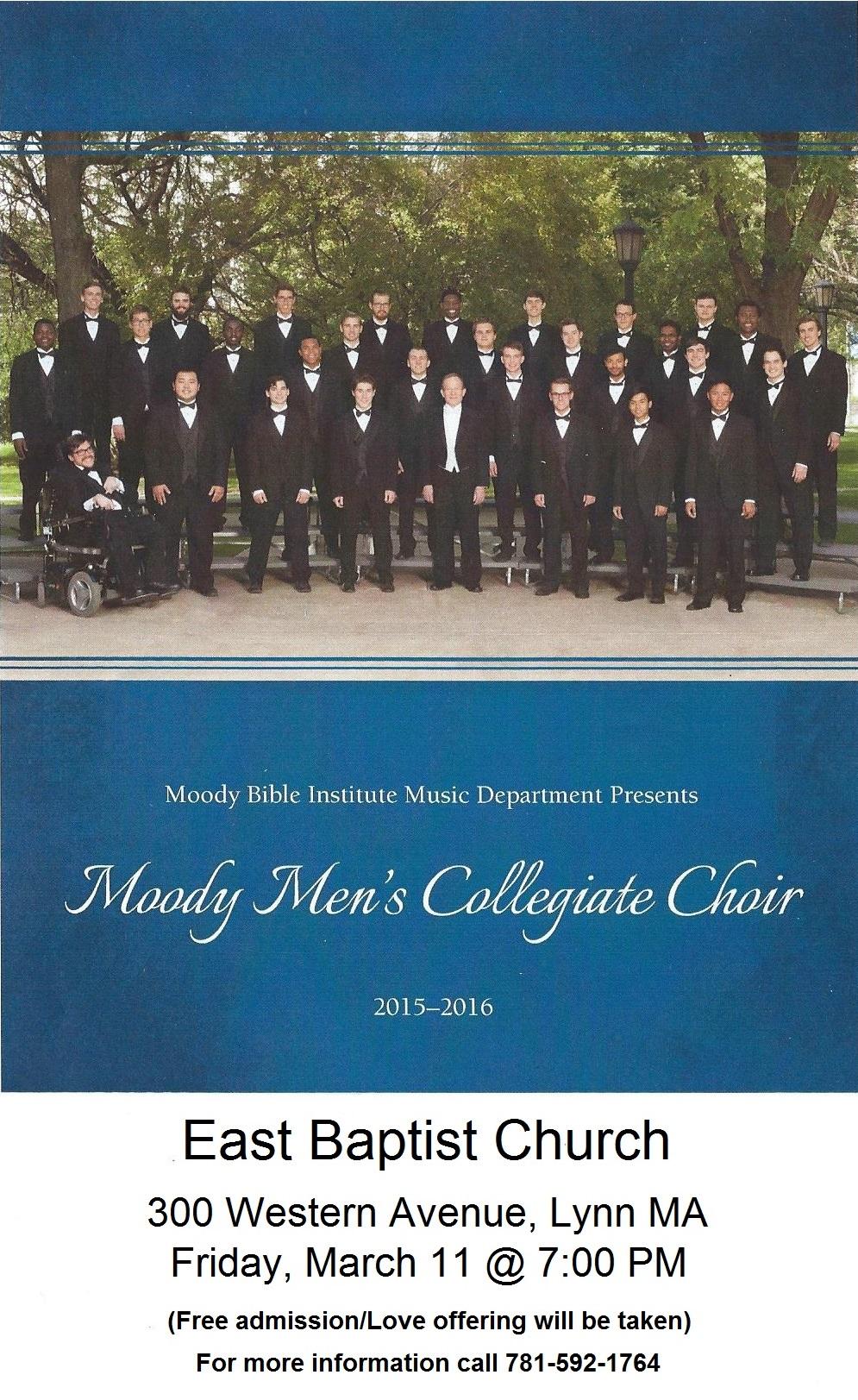 MMCC on 3/11/16 at EBC